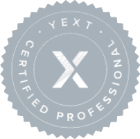 Adwebvertising is a certified YEXT business partner