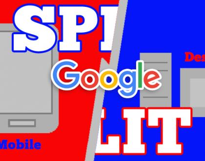 google-split