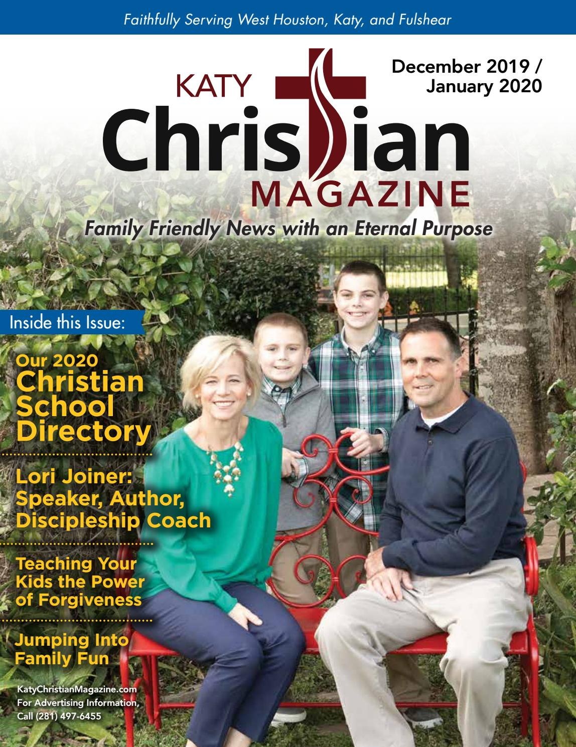 Help Save Katy Christian Magazine & Fort Bend Christian Magazine